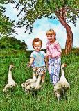 Geese and Kids