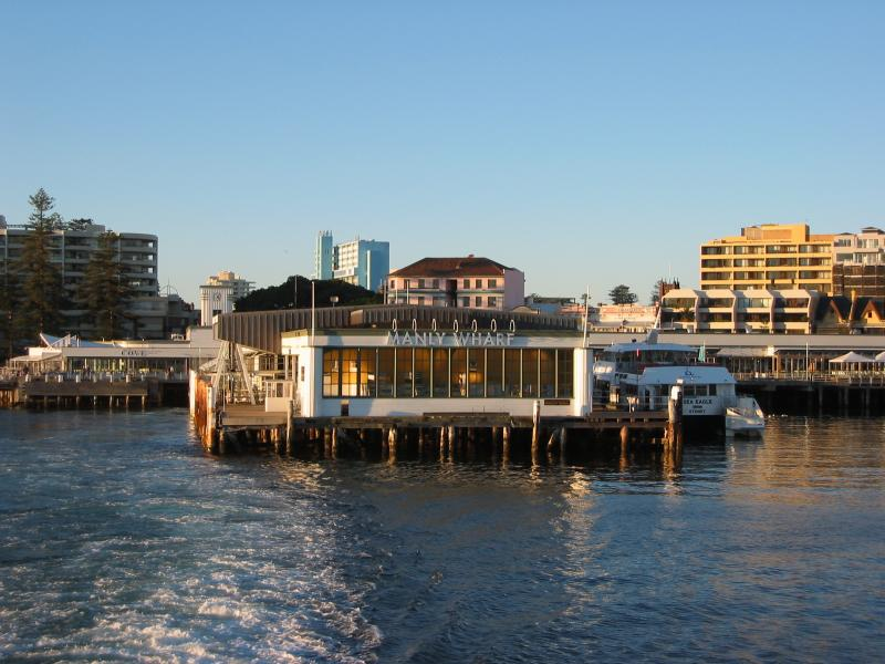 Manly jetty.