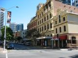 Streetscape in Brisbane.