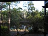 View from our room, Fraser Island.