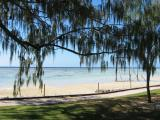 View from our room towards gantry, Heron Island.
