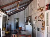 Inside a historic Queenslander.