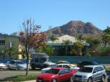 Castle Hill looming over Townsville.