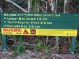 Crocodile warnings.