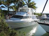 The tour boat we took out to the reef.