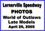 April 29, 2005 Lernerville Speedway