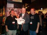 This one is presented to John Page of the Fender Museum by Bill Schultz and Mike Eldred