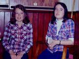 Debbie & Carol 1977