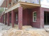Brickwork completed today  -  06/25/2002