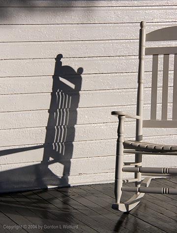 Rocking Chair & Shadows