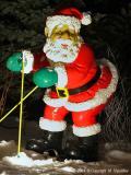 Santa Goes Skiing
