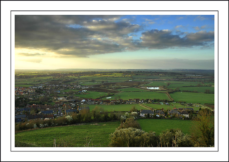 Looking out over Stoke-sub-Hamdon ~ Ham Hill, Somerset