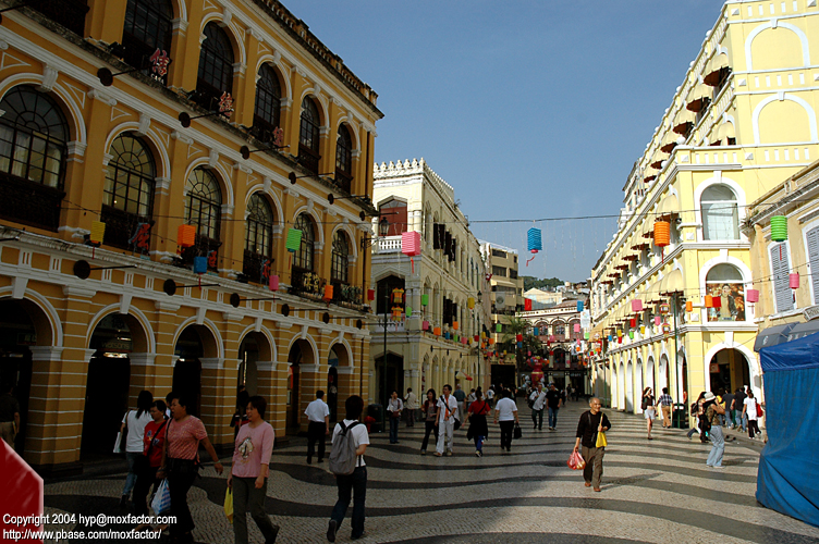 Macau 澳門 - 噴水池