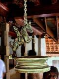 Padmanabhapuram Palace - An old Oil  lamp