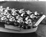 TBD Devastators on the USS Yorktown 1940