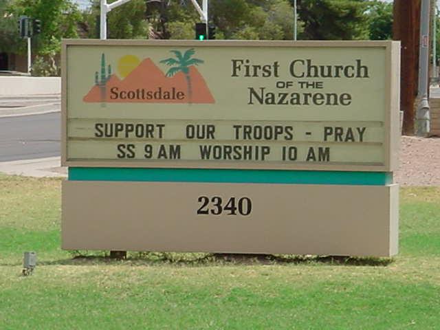 church on N. Hayden in Scottsdale Arizona