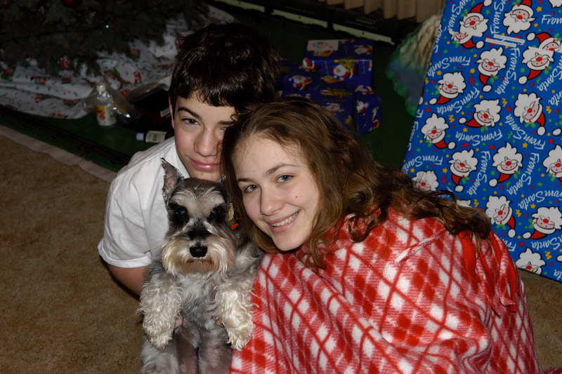 Christmas Morning 2004