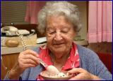 Aunt Edie at 92
