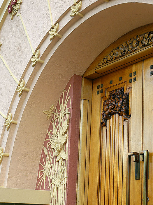 Details on the Door - National Tobacco Factory