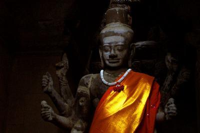 Vishnu, Angkor Wat, Cambodia, 2000