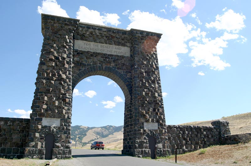 Old North Entrance to Yellowstone