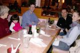 Dinner: Grandma, Alyssa, Mike, Robin & Barbara