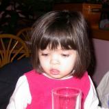 Alyssa ponders dinner