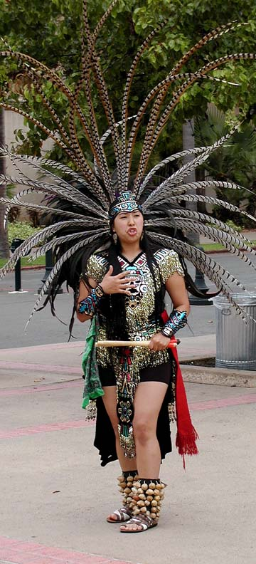 Aztec Dancers from Mexico