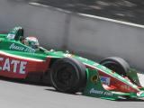 Adrian Fernandez leaves Rainey curve