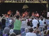 Enthusiastic Live Oak crowd