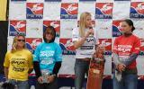 Women's shortboard winners