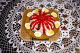 rice salad rosette