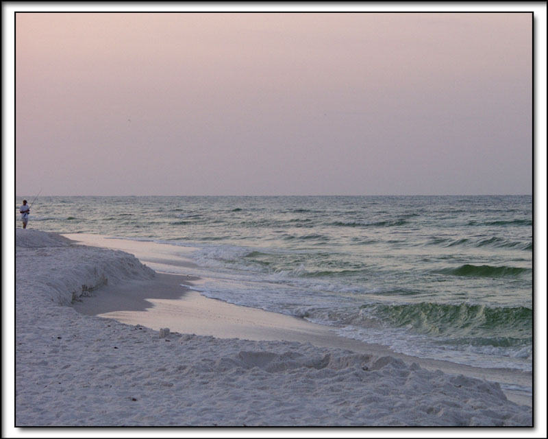Seaside Beach at Dawn