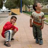 Kids in Jaffa