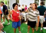Long-time homebrewers and BURP members Wendy Aaronson and Alison Skeel