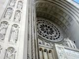 Front arch details
