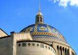 The tiled dome