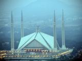 Faisal Mosque from Daman-e-Koh - 70mm