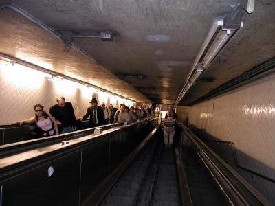 Claustrophobic Escalator