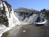 la chute à Rivière-du-Loup
