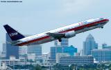 US Airways B737-4B7 N785AU aviation stock photo