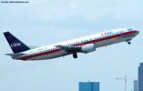 US Airways B737-4B7 N778AU aviation stock photo
