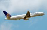 Continental Airlines B757-224 N14118 aviation stock photo