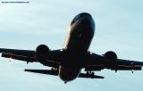 US Airways B737-4B7 aviation stock photo