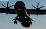American Eagle ATR-42 aviation stock photo