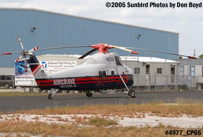Aircrane Inc. Sikorsky S-58T N72B helicopter stock photo #4977