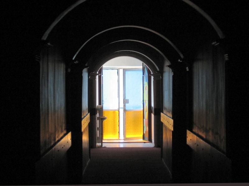 The corridor is at our Van hotel, Buyuk Urartu.