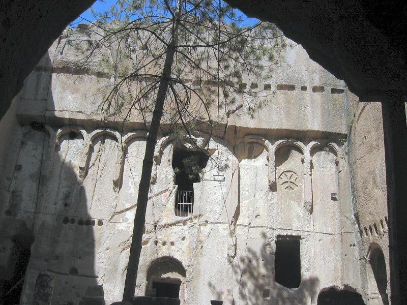 Eski Monastery, huge cave monastery with good frescos<br> but no photos allowed.