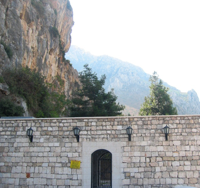 St. Peters Grotto, or rock cave church.   he wrote and gave talks in Antakya.