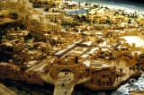 Architectural model of Souq Madinat Jumeirah